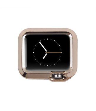 ZWC Apple Watch Beschermende TPU Cover (38mm) - Champagne