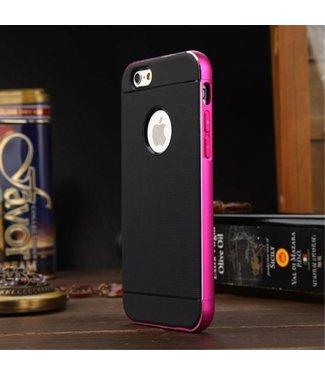 Luphie Luphie Aluminium/TPU Backcase iPhone 6(s) - Roze