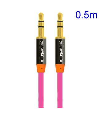 YellowKnife YellowKnife 3.5mm Aux Kabel - Roze