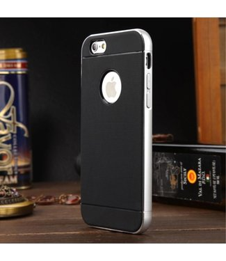 Luphie Luphie Aluminium/TPU Backcase iPhone 6(s) - Zilver