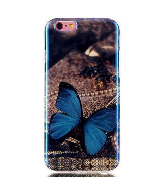 ZWC Blu-ray IMD TPU Softcase iPhone 6(s) - Vlinder