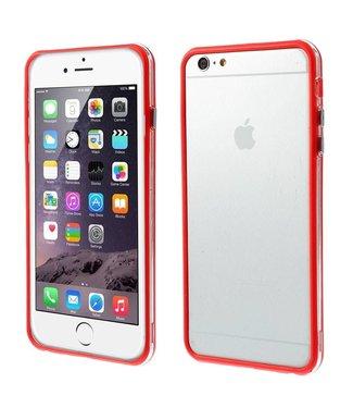 TVC TPU Combo Bumper iPhone 6(s) plus - Rood