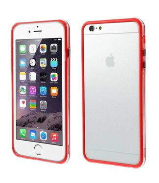 ZWC TPU Combo Bumper iPhone 6(s) plus - Rood