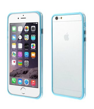 ZWC TPU Combo Bumper iPhone 6(s) plus - Blauw