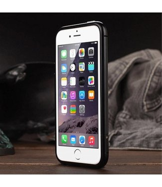 Luphie Aluminium Bumper case iPhone 5(s)/SE 2016 - Zwart