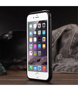 Luphie Aluminium Bumper case iPhone 5(s)/SE - Zwart