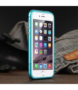 Luphie Luphie Aluminium Bumper iPhone 5(s)/SE - Blauw