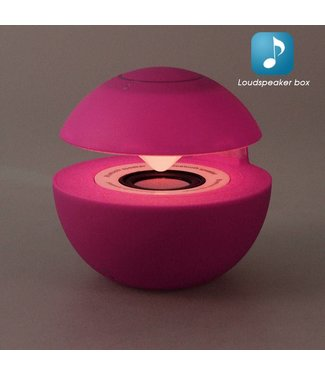 Mini Speaker Bluetooth/Aux - Roze