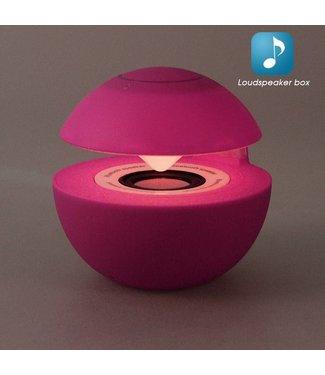 Mini Speaker Bluetooth/Aux - Roze