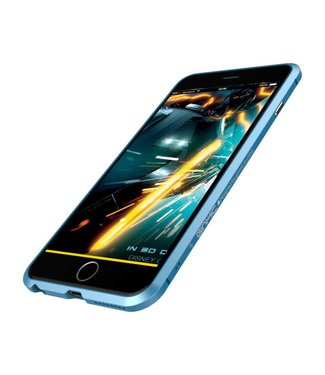 Ginmic Aluminium Bumper iPhone 6(s) plus - Blauw