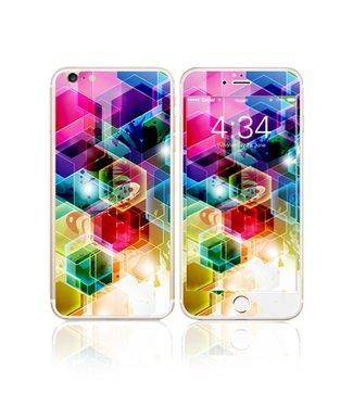 Fema Fema Gehard Glas Bescherming iPhone 6(s) plus - Geometrisch