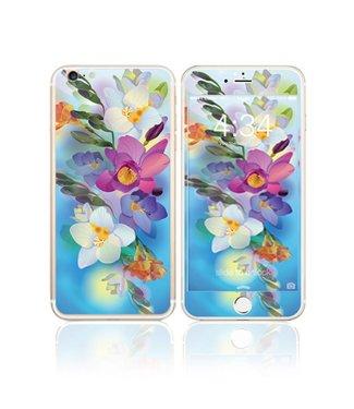 Fema Gehard Glas Bescherming iPhone 6(s) plus - Bloemen