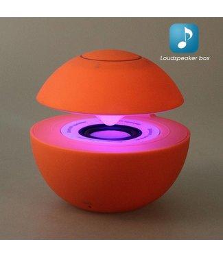 ZWC Mini Speaker Bluetooth/Aux - Rood