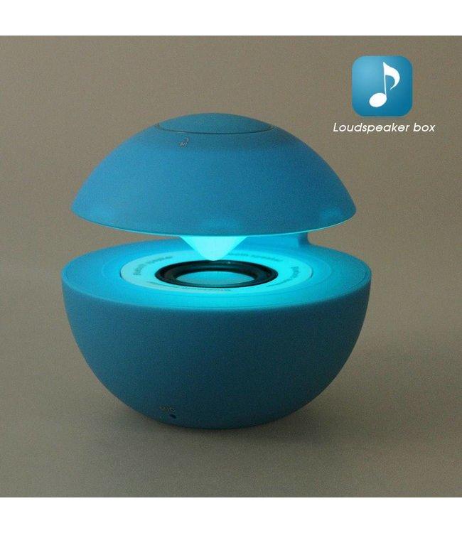 Mini Speaker Bluetooth/Aux - Blauw