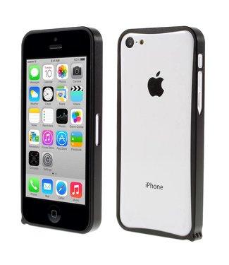 ZWC Aluminium Bumper iPhone 5c - Zwart