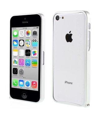 ZWC Aluminium Bumper iPhone 5c - Zilver