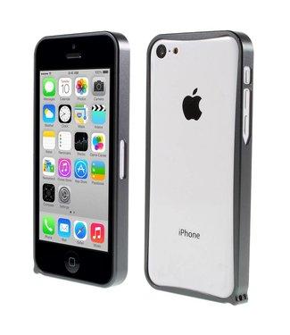 ZWC Aluminium Bumper iPhone 5c - Antraciet