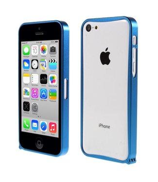 ZWC Aluminium Bumper iPhone 5c - Blauw
