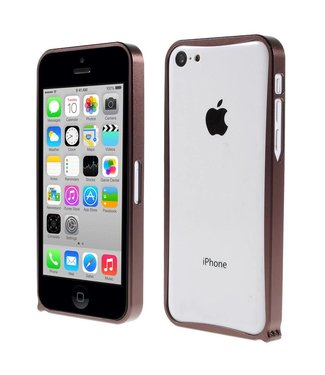 ZWC Aluminium Bumper iPhone 5c - Koper