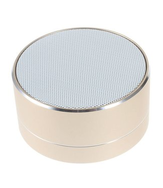 A10 Bluetooth Speaker - Goud Champagne