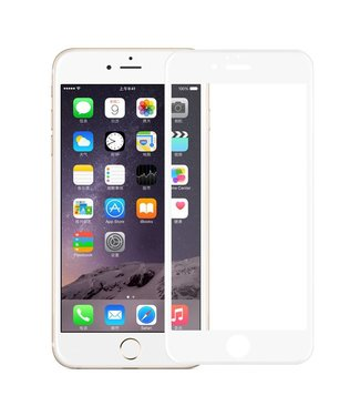 iPhone 6(s) 0,9mm Edge 2 Edge Glas Screenprotector - Wit