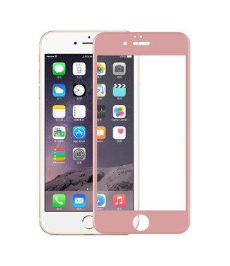 iPhone 6(s) 0,9mm Edge 2 Edge Glas Screenprotector - Rosé Goud