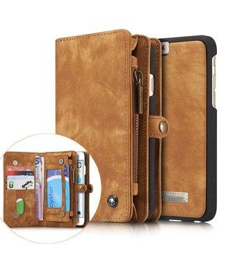 Caseme Caseme Leren Wallet iPhone 6(s) - Bruin