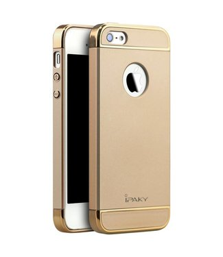 iPaky iPaky 3-in-1 Hardcase iPhone 5(s)/SE - Goud