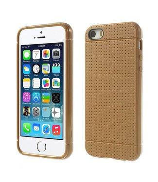 Mesh Mesh TPU Softcase iPhone 5(s)/SE - Bruin