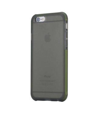 Rock Rock Extreme Bescherming TPU/TPE Softcase iPhone 6(s) - Zwart/Groen
