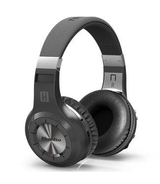 Bluedio Draadloze 4.1 Bluetooth 57mm Headset + Mic - Zwart
