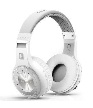 Bluedio Draadloze 4.1 Bluetooth 57mm Headset + Mic - Wit
