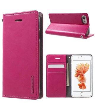 Goospery PU Leren Wallet iPhone 7/8/SE 2020 - Roze