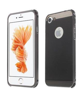 ZWC PC/Aluminium Hardcase iPhone 7/8 - Zwart