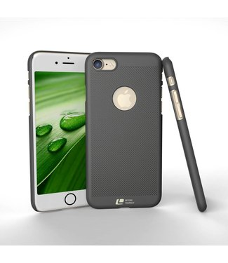 Loopee Geweven Hardcase iPhone 7/8 - Antraciet