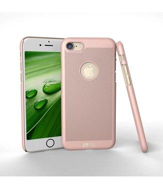 Loopee Loopee Geweven Hardcase iPhone 7/8 - Rosé Goud