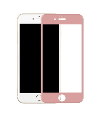 Benks Benks iPhone 7/8 plus 3D Gehard Glas Edge 2 Edge Screenprotector - Rosé Goud