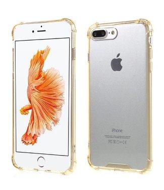 TVC Anti-shock TPU Softcase iPhone 7/8 plus - Goud/Geel