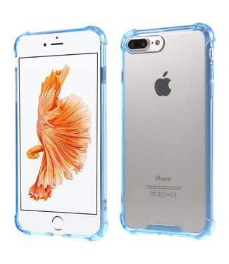 ZWC Anti-shock TPU Softcase iPhone 7/8 plus - Blauw