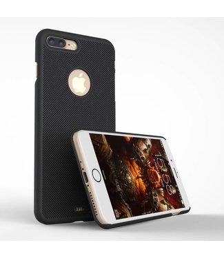 Loopee Loopee Geweven Hardcase iPhone 7/8 plus - Zwart