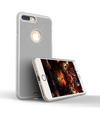 Loopee Loopee Geweven Hardcase iPhone 7/8 plus - Zilver