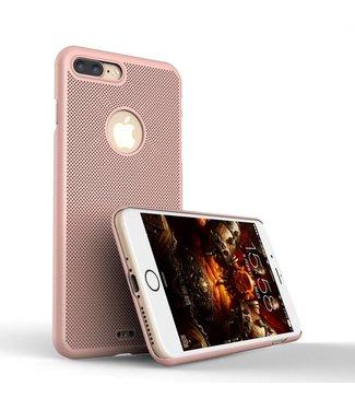 Loopee Loopee Geweven Hardcase iPhone 7/8 plus - Rosé Goud