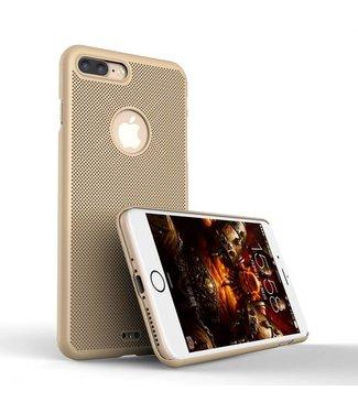 Loopee Loopee Geweven Hardcase iPhone 7/8 plus - Goud