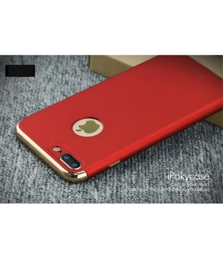 iPaky iPaky 3-in-1 Hardcase iPhone 7/8 plus - Rood/Goud