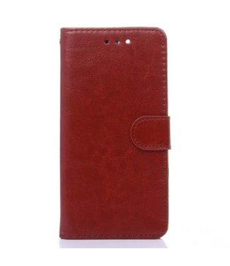 Crazy Horse Crazy Horses PU Leren Wallet iPhone 7/8 plus - Bruin