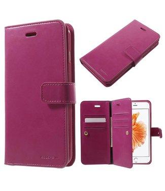 Goospery Goospery Luxe PU Leren Wallet iPhone 7/8 plus - Roze