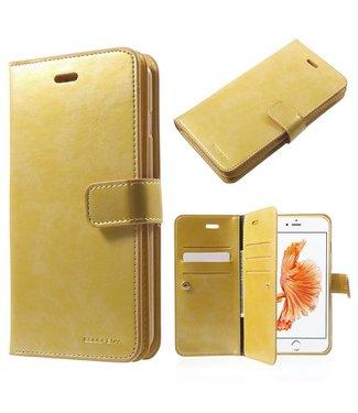 Goospery Goospery Luxe PU Leren Wallet iPhone 7/8 plus - Goud