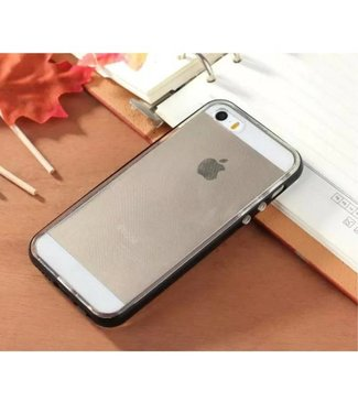 Enkay Enkay Aluminium/TPU Backcase iPhone 5(s)/SE 2016 - Zwart