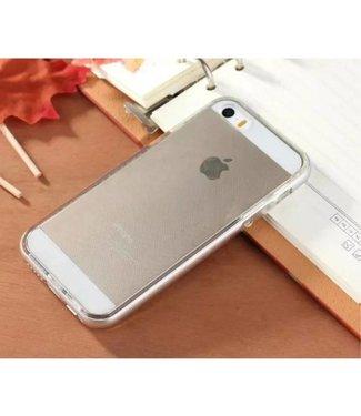 Enkay Enkay Aluminium/TPU Backcase iPhone 5(s)/SE 2016 - Zilver