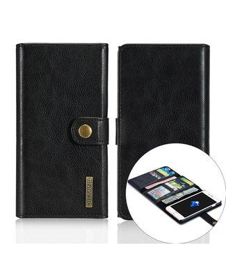 DG-Ming DG-Ming Luxe Magnetische Leren Wallet iPhone 7/8 plus - Zwart
